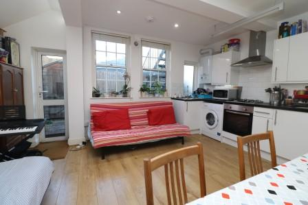 Ground Floor One Bed Garden Flat Very Modern Open Plan Kitchen Awesome Two Bedroom Flat In London Model Plans