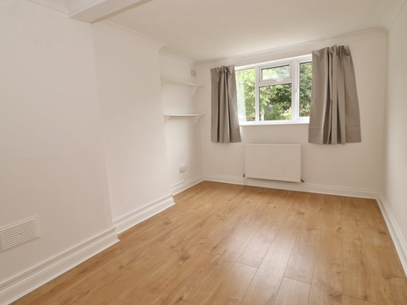 Garden flat in Crouch End, N8. One bedroom conversion.